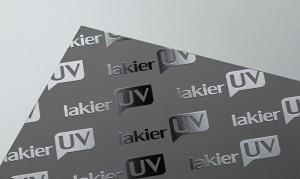 Lakier UV wybiórczo